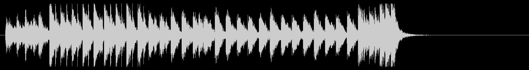三味線と太鼓のアンサンブル2BMP120の未再生の波形