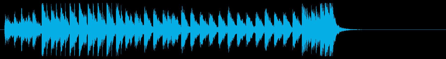 三味線と太鼓のアンサンブル2BMP120の再生済みの波形