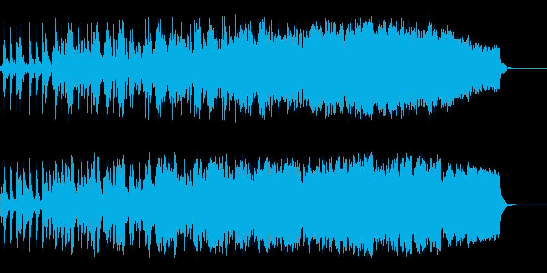 RPGの城下町をイメージしたオーケストラの再生済みの波形