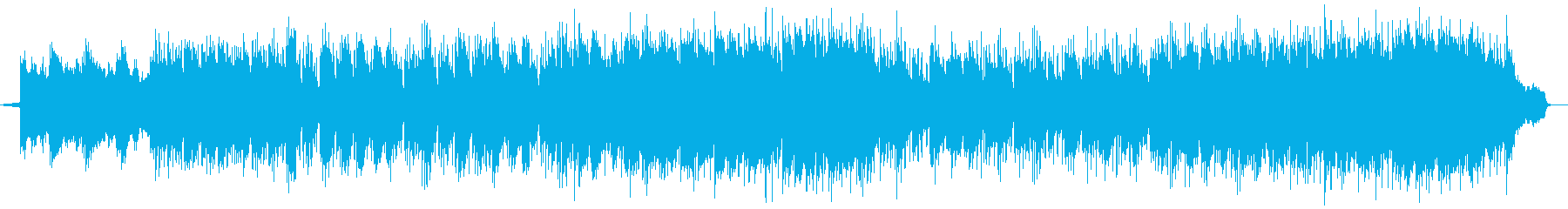 爽かな風ピアノ・シンセ系サウンドの再生済みの波形