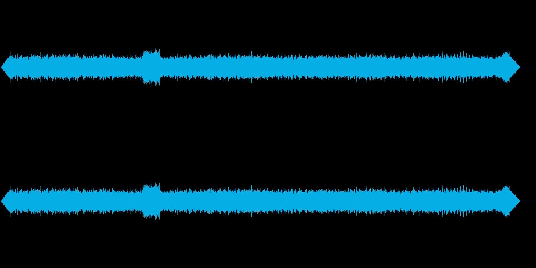 中央アメリカの森_午後、重虫の再生済みの波形