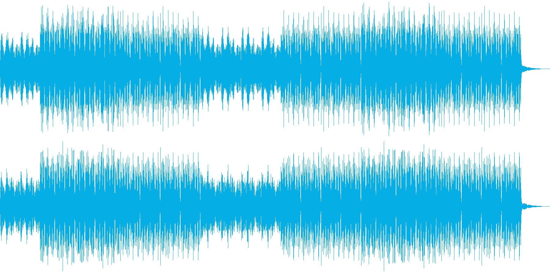 おしゃれ・エスニック・EDM・透明感4の再生済みの波形