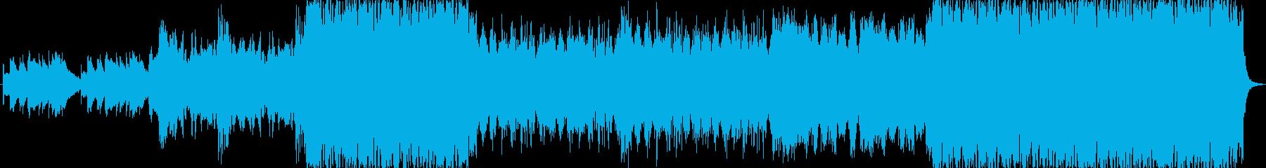 オーケストラ楽器魔法の魔法のおとぎ...の再生済みの波形
