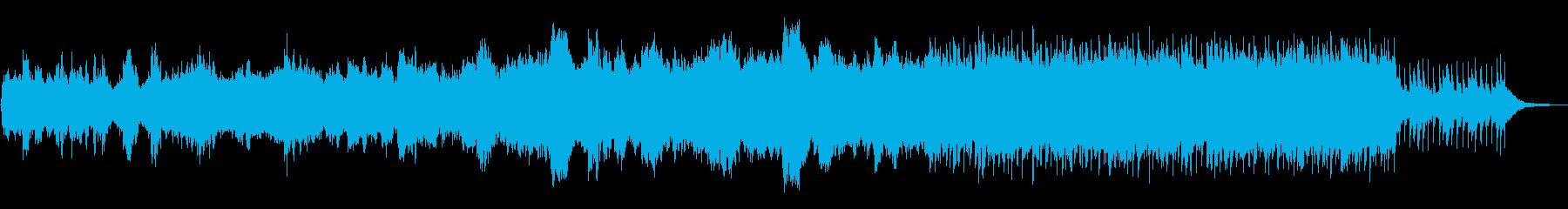 ヒーリング&リゾートBGMの再生済みの波形