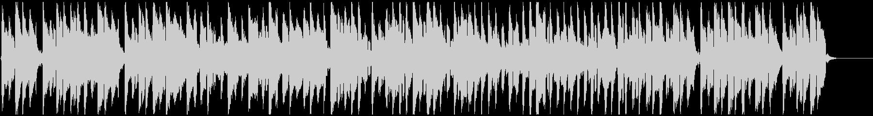 ぐうたら日常的な脱力リコーダーBGMの未再生の波形