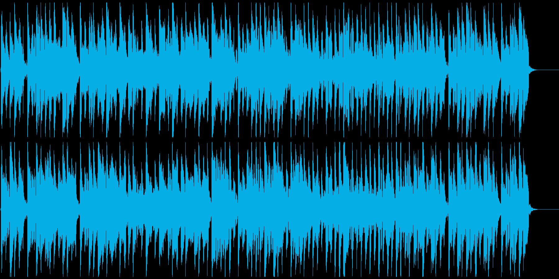 ぐうたら日常的な脱力リコーダーBGMの再生済みの波形