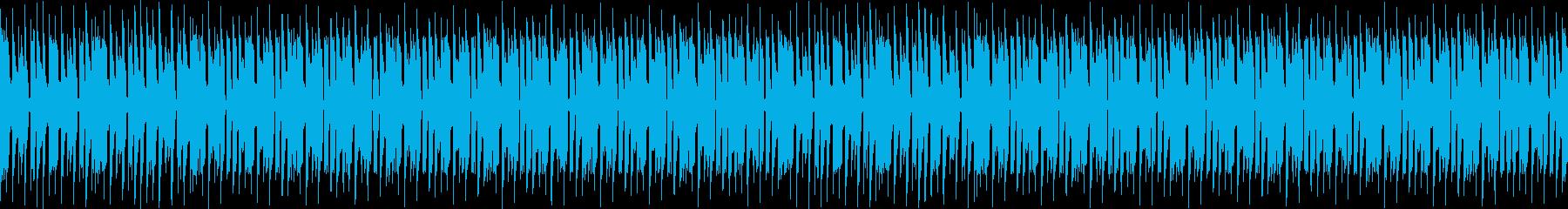 無機質な工場系機械ロボットビートの再生済みの波形