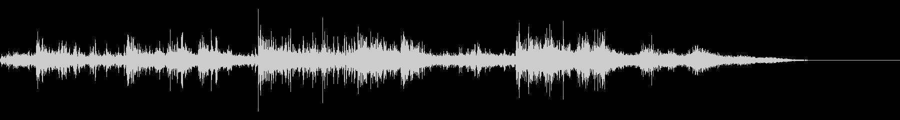 カミナリ(遠雷)-35の未再生の波形