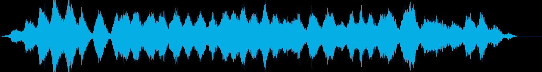 動画 サスペンス アクション 技術...の再生済みの波形