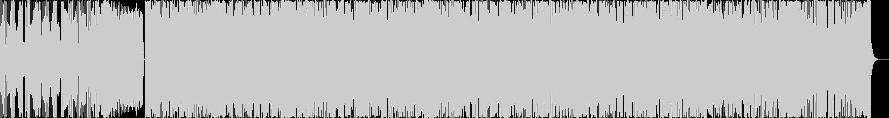 激しくクールなロックチューンです。の未再生の波形