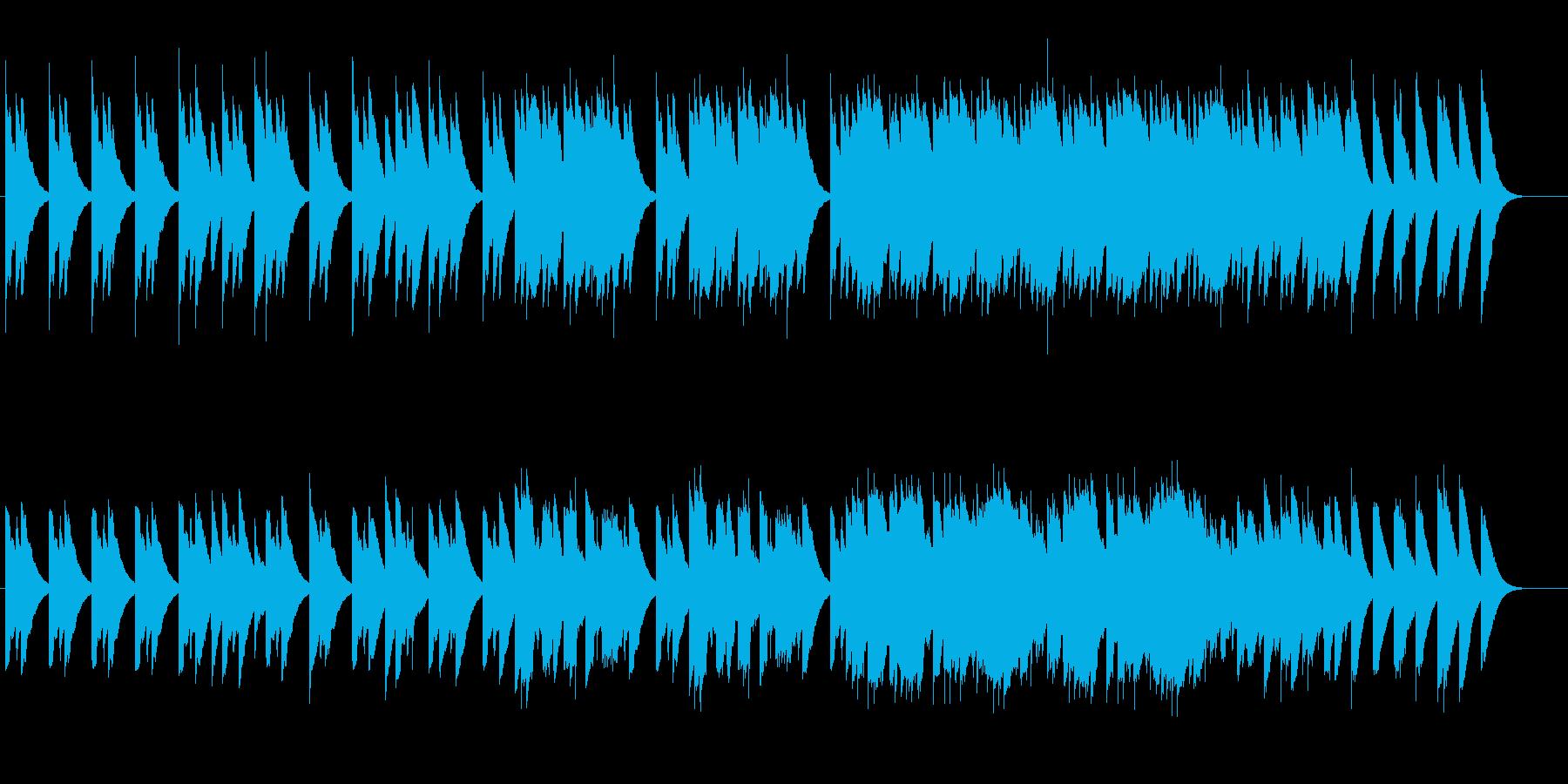 <オルゴール>不安怪しげ、不思議で不気味の再生済みの波形