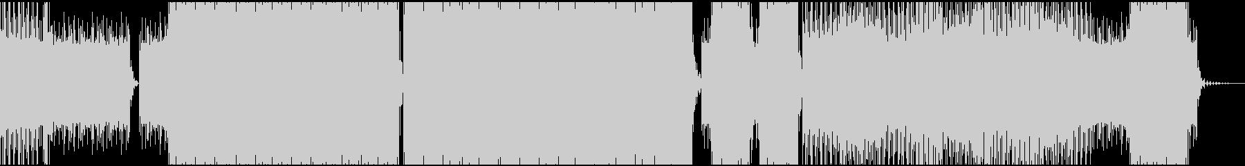 暗く儚い(はかない)アンビエントテクノの未再生の波形