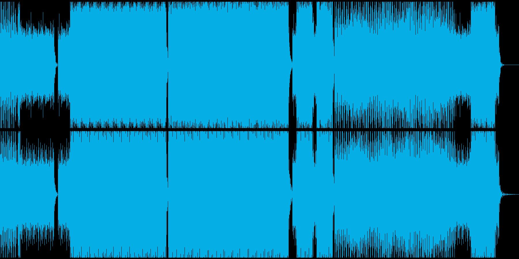暗く儚い(はかない)アンビエントテクノの再生済みの波形