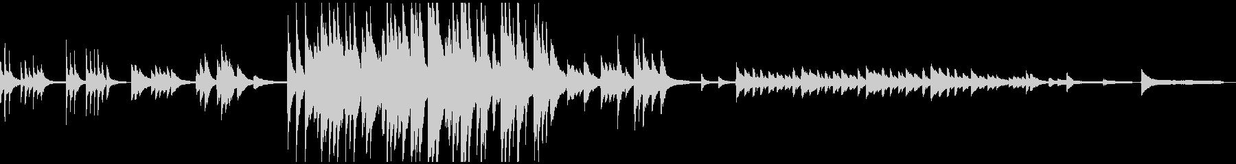 1:54しんみりあったかく哀しいピアノ曲の未再生の波形