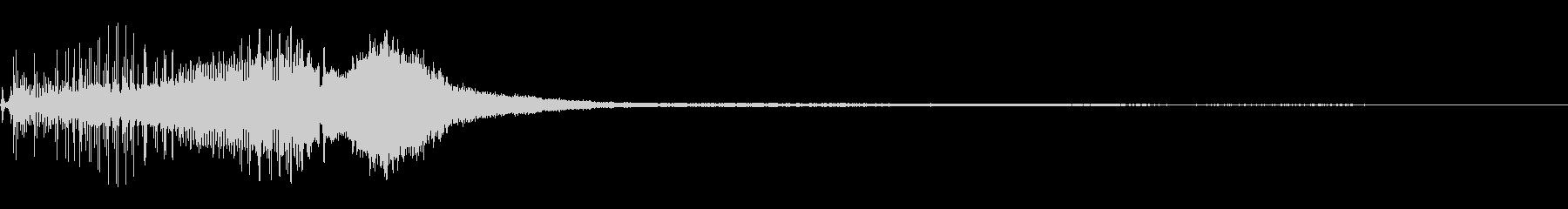ヤマハ600:スタート、高速スノー...の未再生の波形