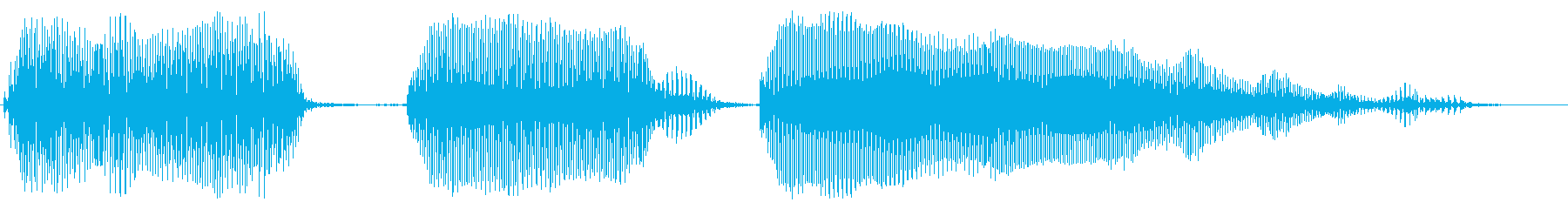 明るいトランペット上昇の再生済みの波形