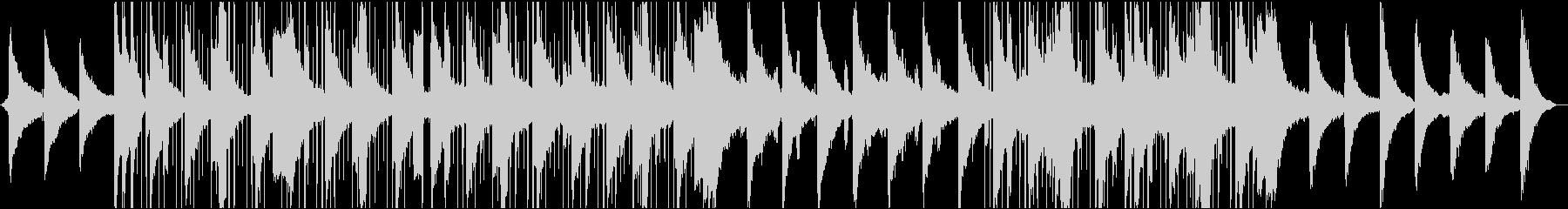 セクシーなスローエレクトロミュージックの未再生の波形