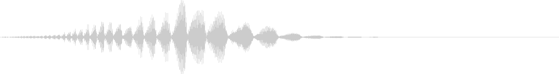 SE ロボ音の未再生の波形