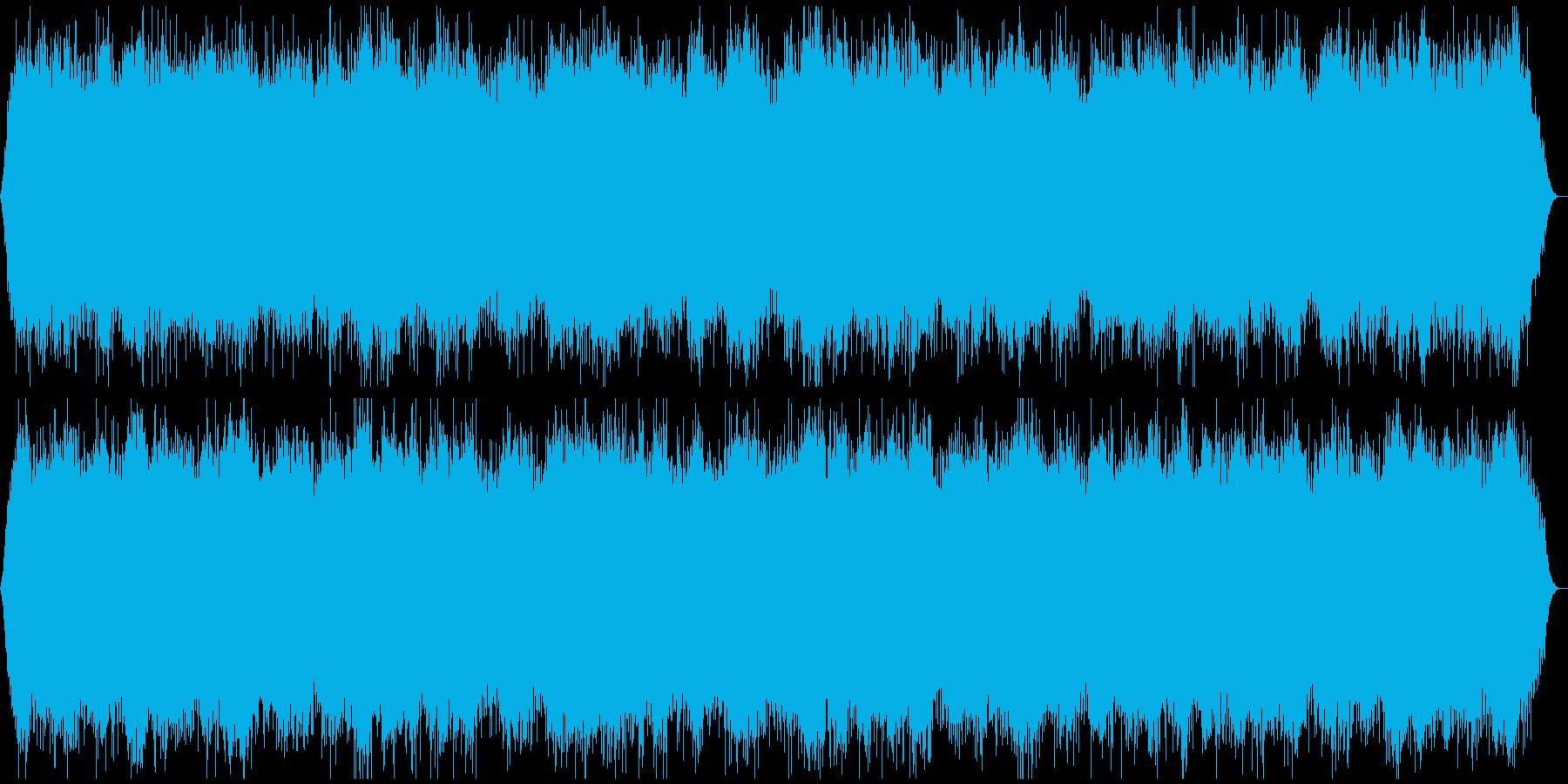 心霊映像の再現VTR用●アンビエント★Cの再生済みの波形