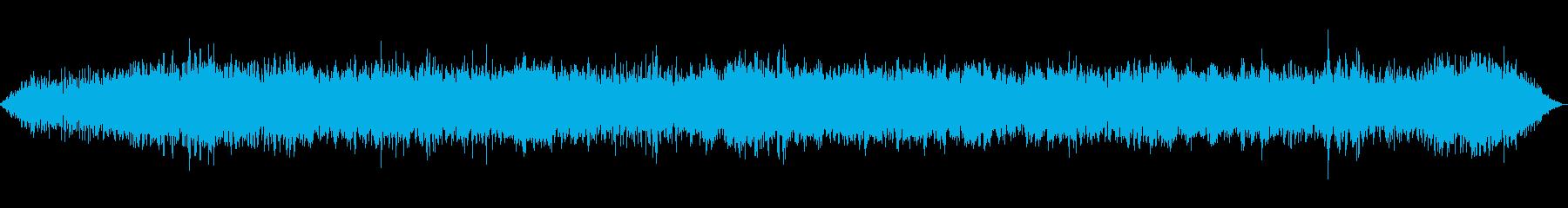 バンの運転-インテリアの視点の再生済みの波形