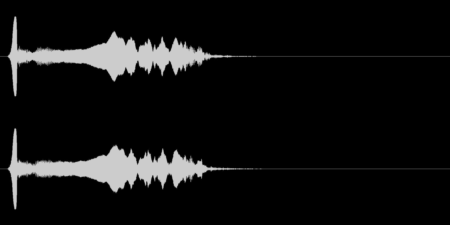 尺八 生演奏 古典風 残響音有 #19の未再生の波形