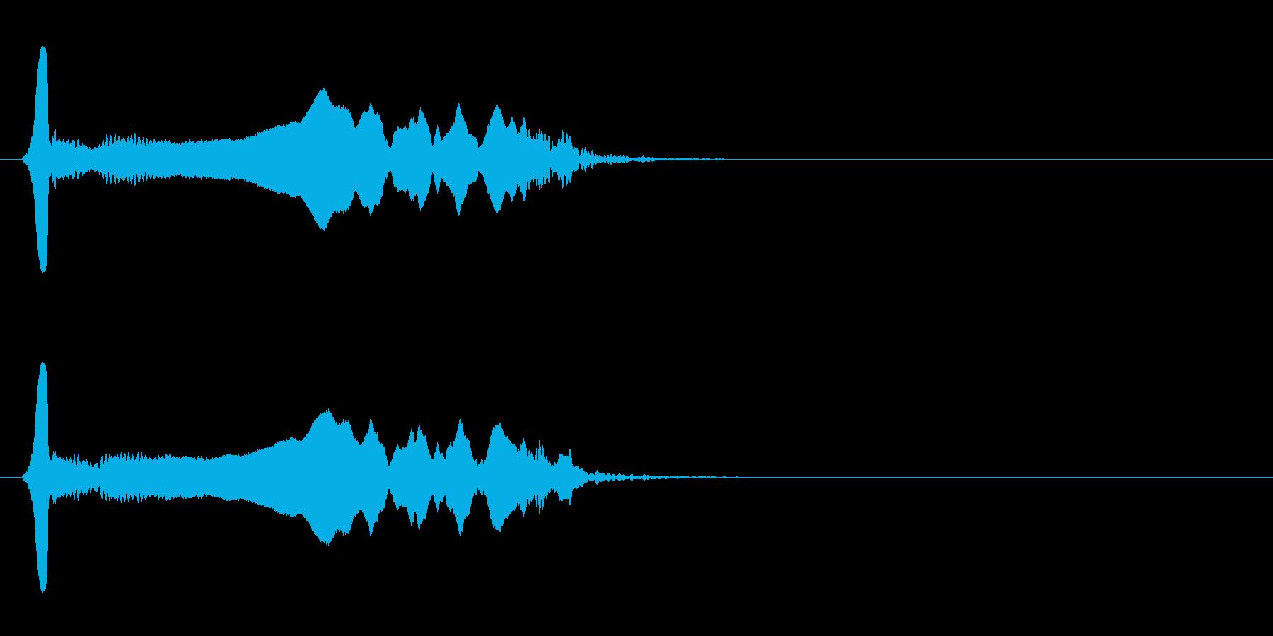 尺八 生演奏 古典風 残響音有 #19の再生済みの波形