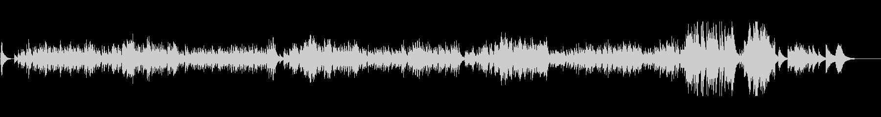 ノクターンをエレクトリックピアノでの未再生の波形