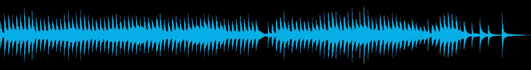 伝統趣ある切ない哀愁感ピアノアンビエントの再生済みの波形