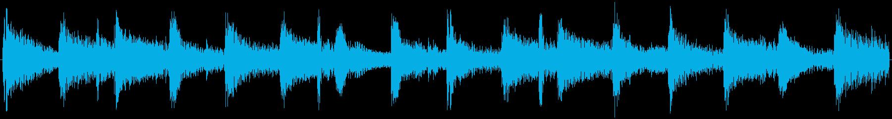 129bpmAbMajシャッフルジャズ円の再生済みの波形
