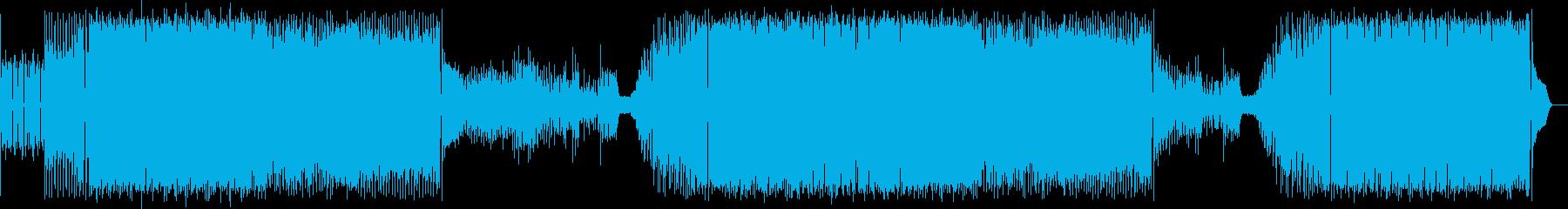 ポップコーンが弾ける!エレクトロxポップの再生済みの波形
