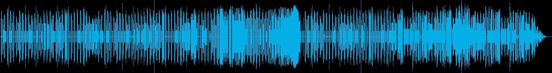 キュンキュンするかわいいエレクトロポップの再生済みの波形