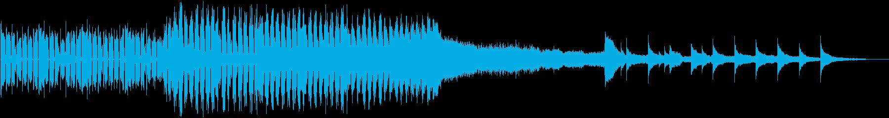 ダンス調からの再生済みの波形