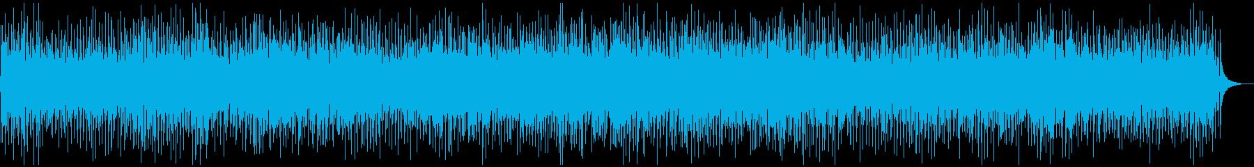 シンプル、軽快なブルーグラスの再生済みの波形