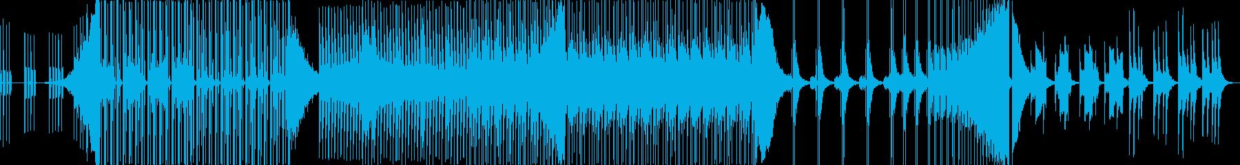 中国の楽器を使った音楽の再生済みの波形