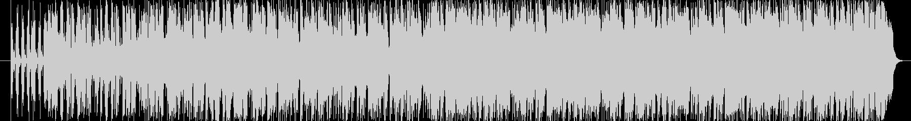 ピアノで旋律を奏でているジャズワルツの未再生の波形