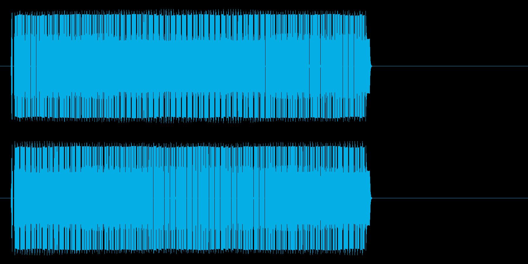 ビリビリビリビリ(感電等)の再生済みの波形