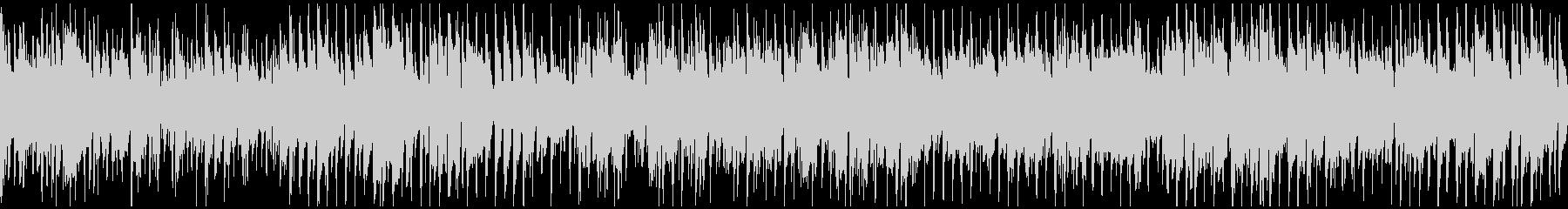 都会的なサックスのクラブジャズ※ループ版の未再生の波形