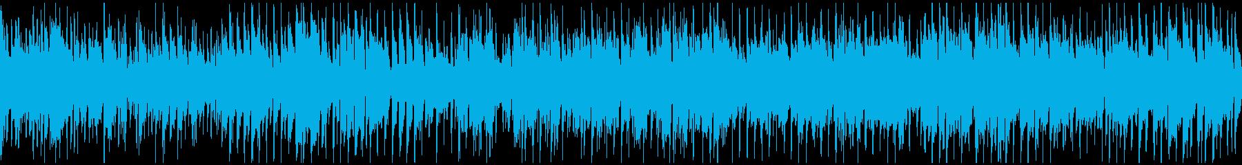 都会的なサックスのクラブジャズ※ループ版の再生済みの波形