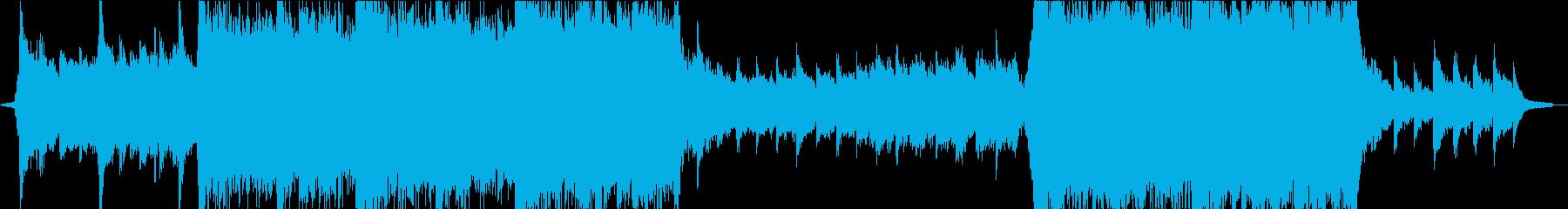 前向きでキャッチーなオーケストラエピックの再生済みの波形