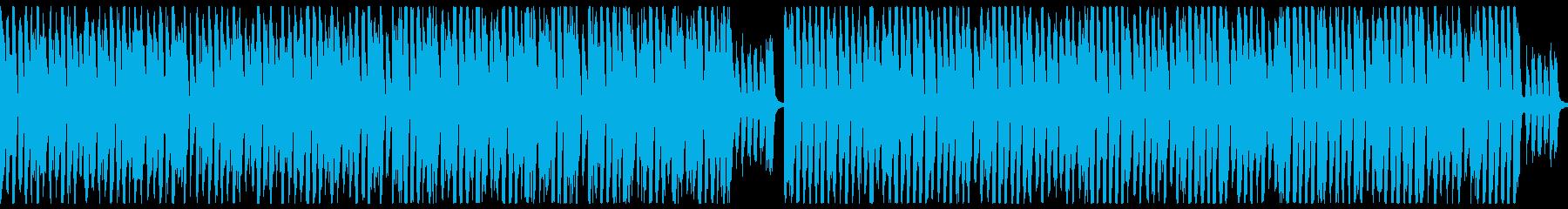 ブラスがお洒落エレクトロスイング(ループの再生済みの波形