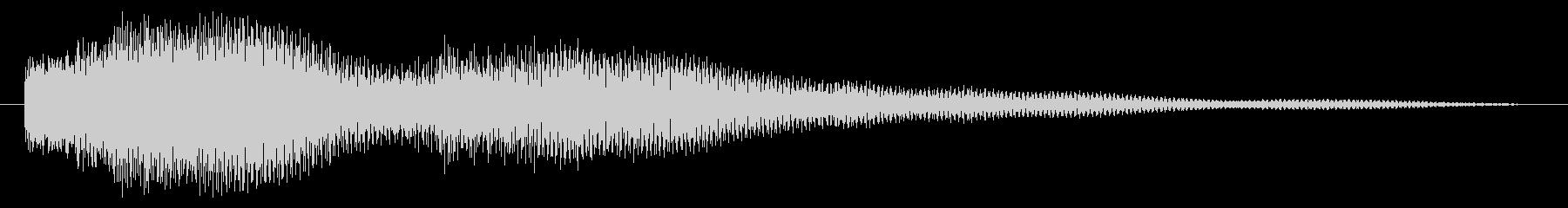 人狼・脱出ゲーム用効果音「場面転換・鐘」の未再生の波形