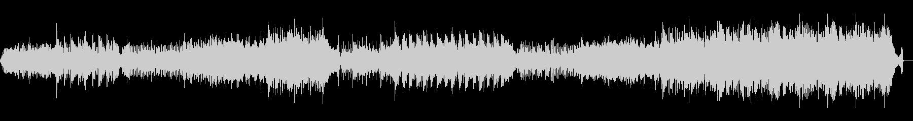 洞窟やダンジョン、ダークなエレクトロニカの未再生の波形