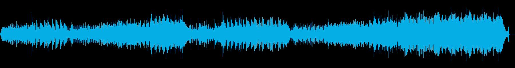 洞窟やダンジョン、ダークなエレクトロニカの再生済みの波形