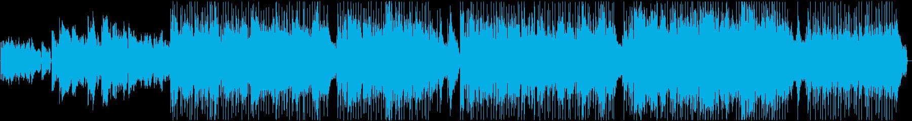 SOUPの再生済みの波形