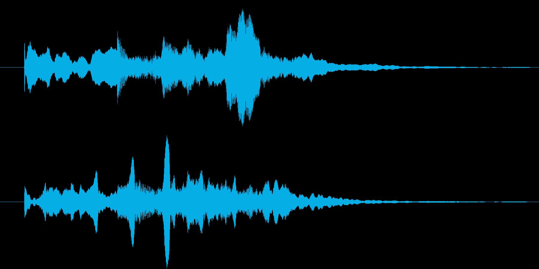 幻想的なジングル 場面転換の再生済みの波形