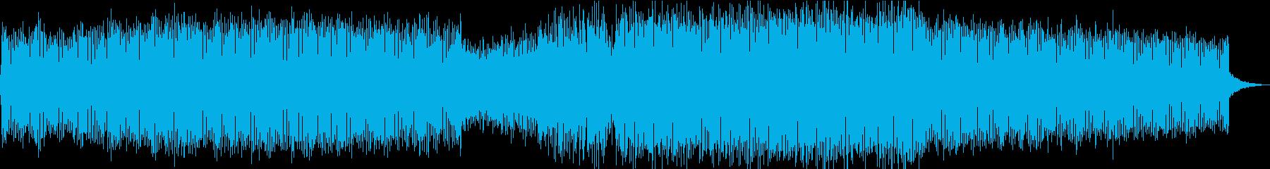 爽やかな海の風をイメージしたライトEDMの再生済みの波形
