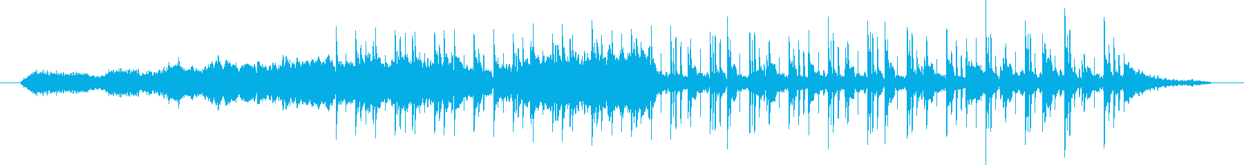 Beautiful and unbreakable instrumental's reproduced waveform