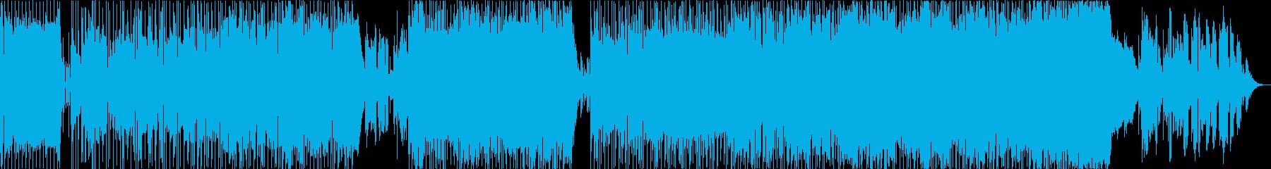 ドラマの主題歌のようなキャッチ―バラードの再生済みの波形