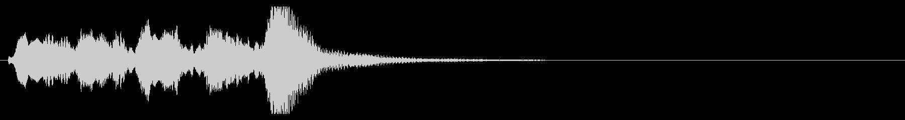 上品で可愛いジングル9aの未再生の波形