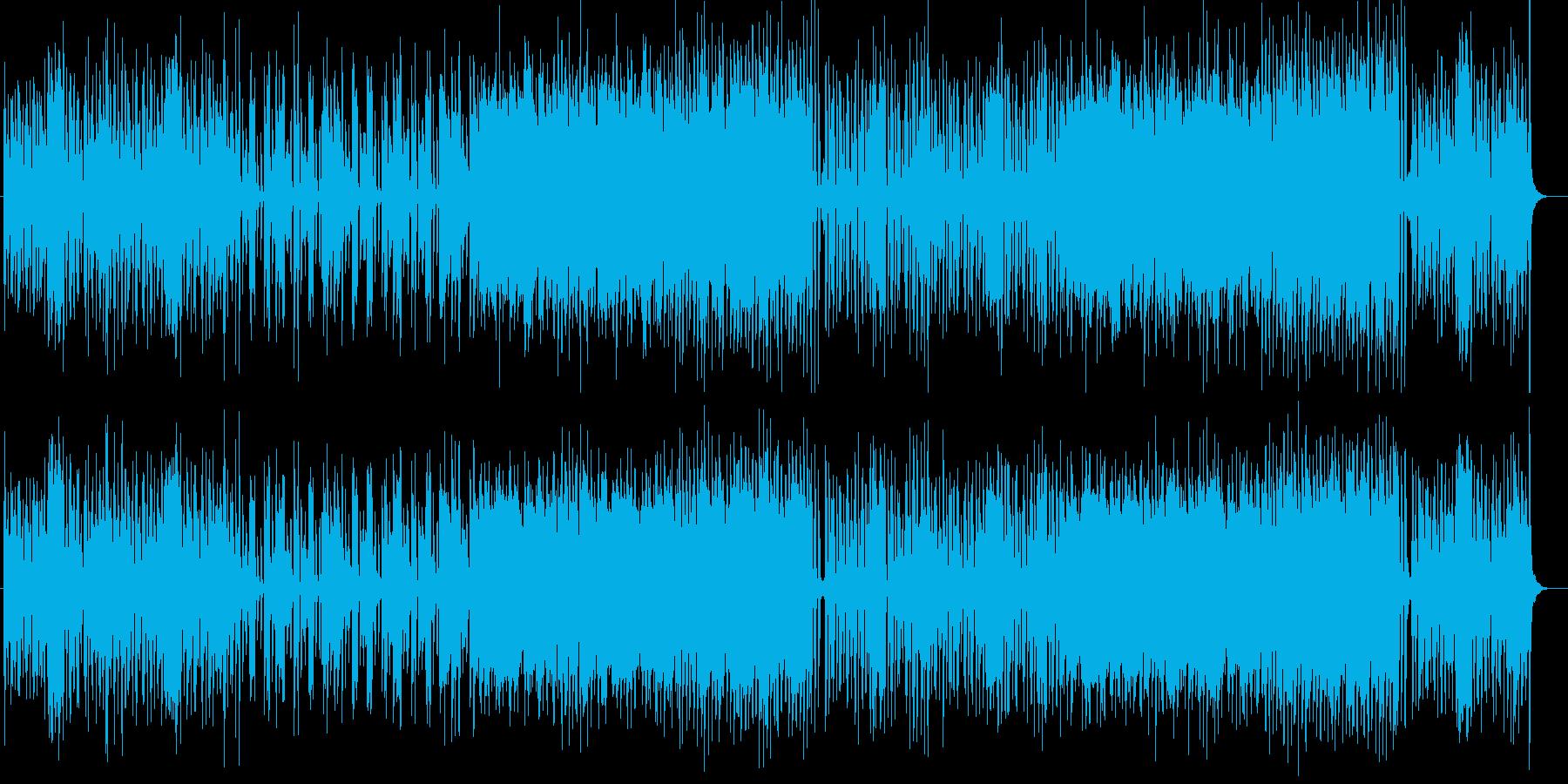 ほのぼのと楽しいシンセポップスの再生済みの波形